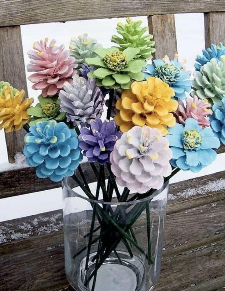 Составление букетов из живых цветов - часть 1