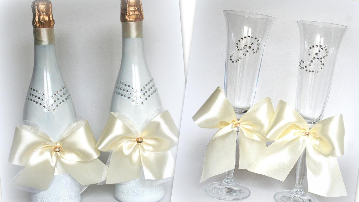 Свадебные бокалы своими руками: роза из полимерной глины. лебеди на свадебных бокалах. мастер-класс бокалы на свадьбу с полимерной глиной