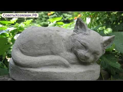 10 оригинальных идей садовых скульптур из бетона и гипса
