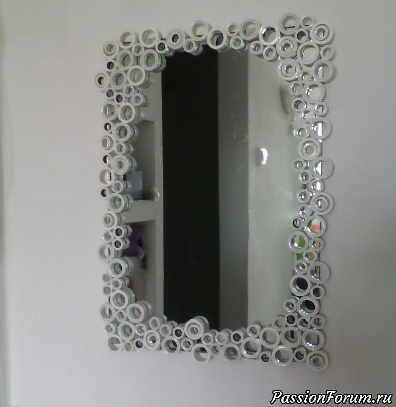 Вдыхаем жизнь в старое зеркало. мастер - класс