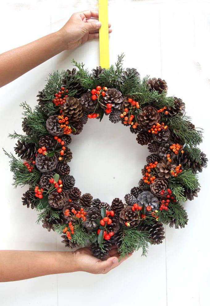 25 лучших идей для рождественского венка своими руками - каталог статей на сайте - домстрой