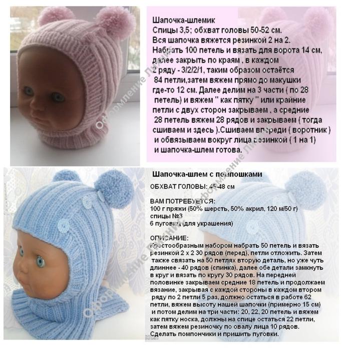 Шапочка спицами для новорожденного: удобные схемы, инструкции по вязанию теплой шапки