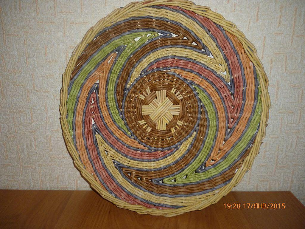 Панно из газетных трубочек+канзаши, немного свит-дизайна и прочее | страна мастеров