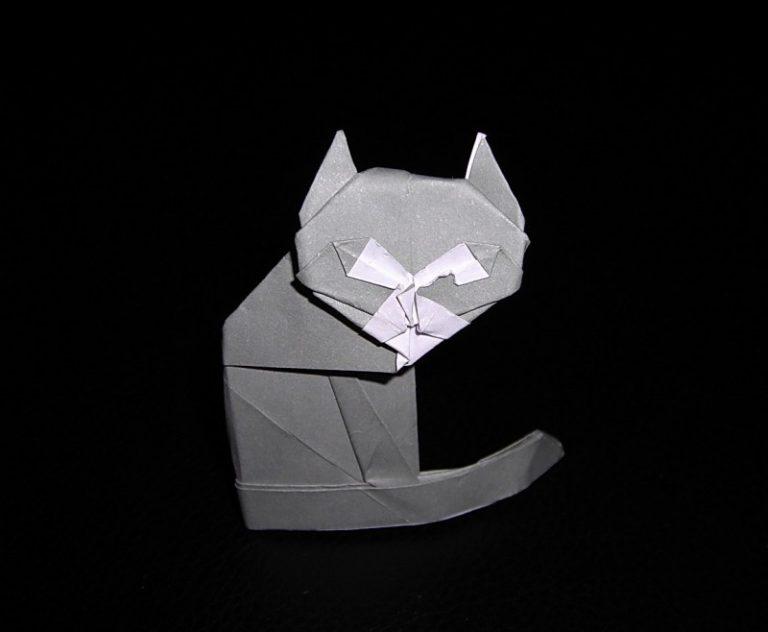 Как сделать котика из бумаги – поделка для детей поэтапно с фото | hand made - идеи и мастер-классы
