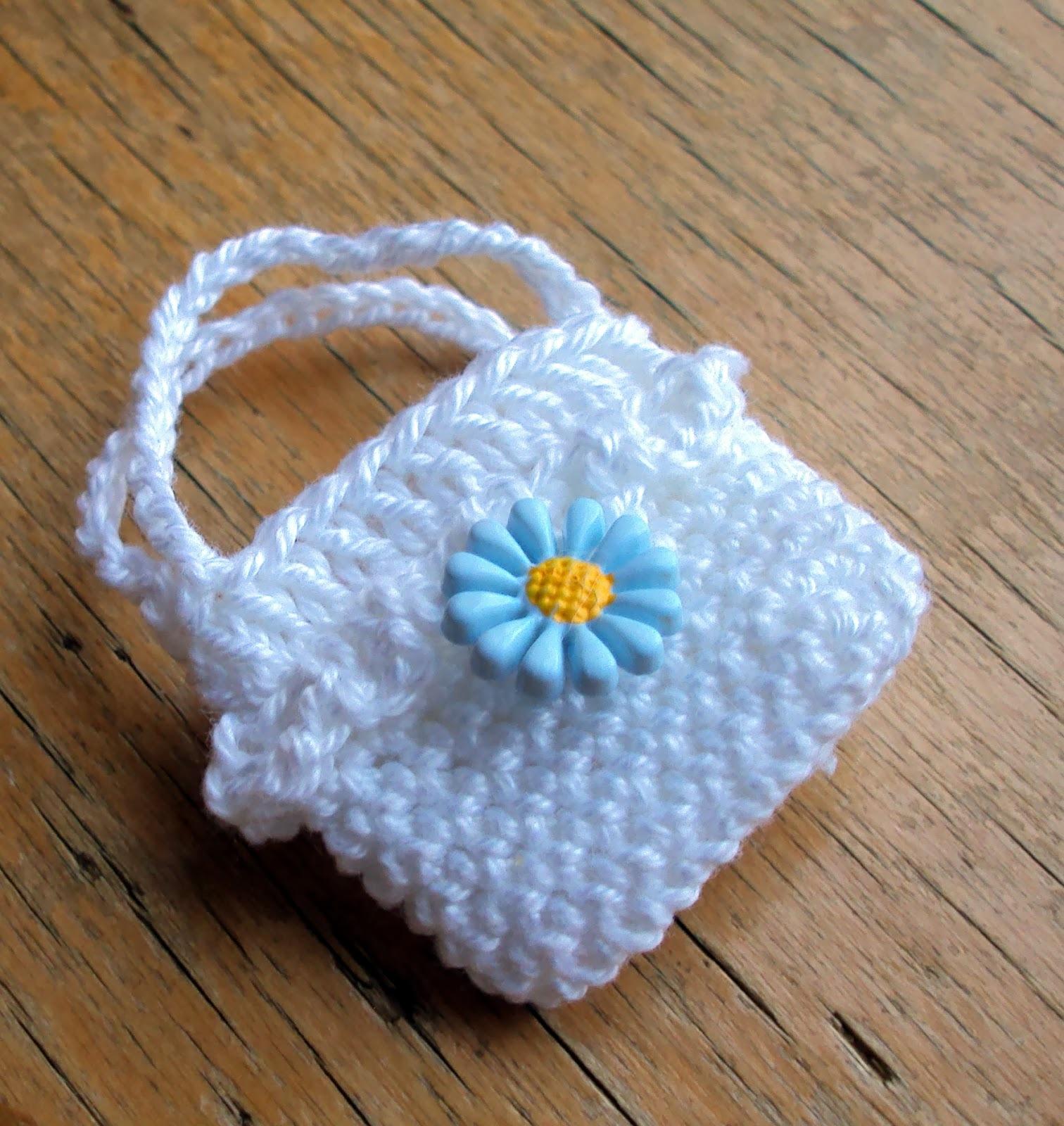 Детские вязаные сумочки