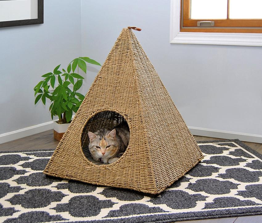 Домик для кошки своими руками: чертежи с размерами и пошаговая инструкция
