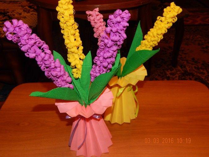 Гиацинт из бумаги: 105 фото лучших идей как сделать своими руками цветок