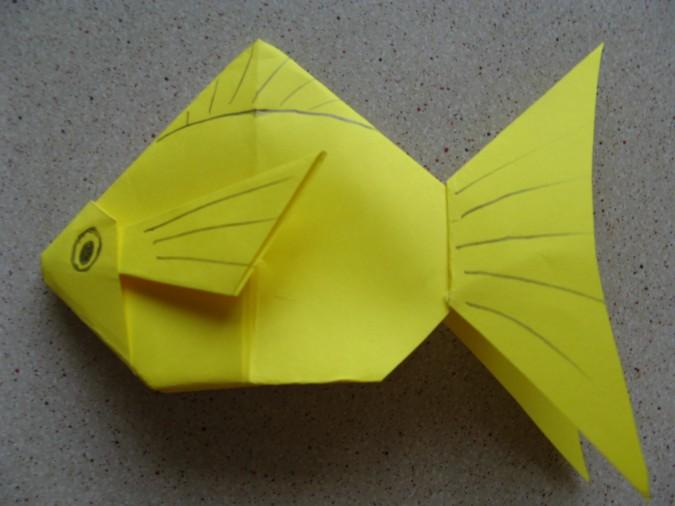 Поделка рыбка - 85 фото простых вариантов выполнения детских поделок