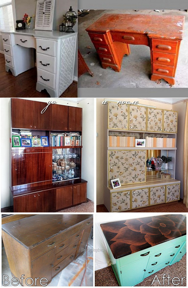 Декор шкафа своими руками — 5 способов