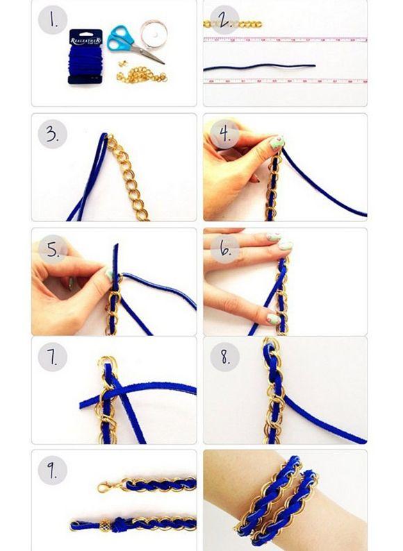 Как сделать браслет из бумаги?. браслет из бумаги своими руками