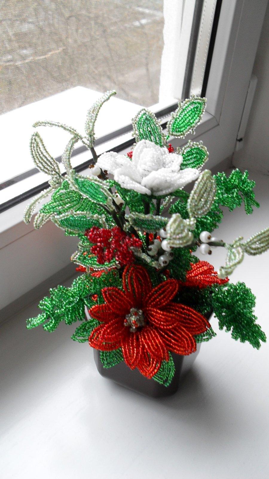 Снежинки из бисера для детей. снежинки из бисера своими руками со схемами, фото и видео