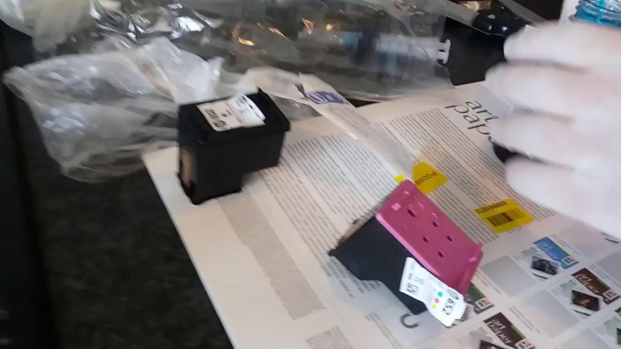 Заправка струйного принтера