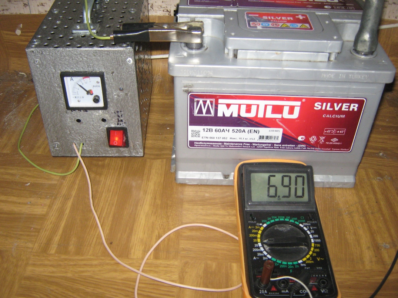 Зарядное из компьютерного блока питания - diodnik