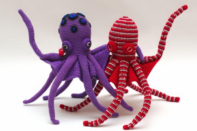 Мягкая игрушка осьминог своими руками, выкройки, мастер класс