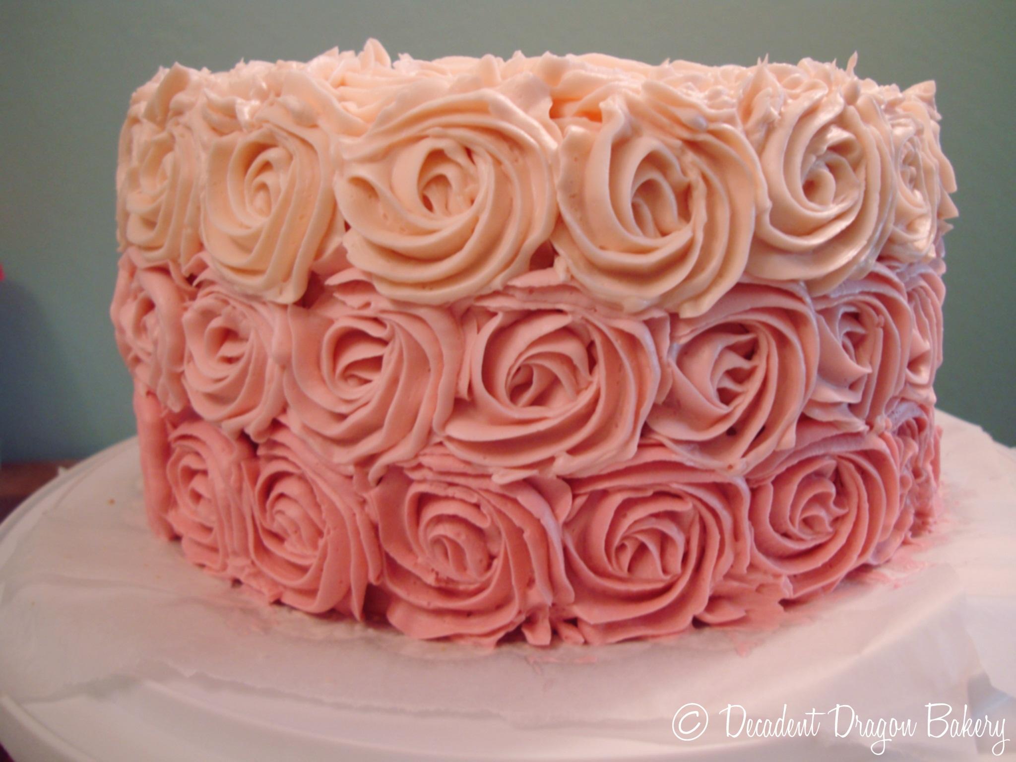 Кондитерские насадки-розы для крема