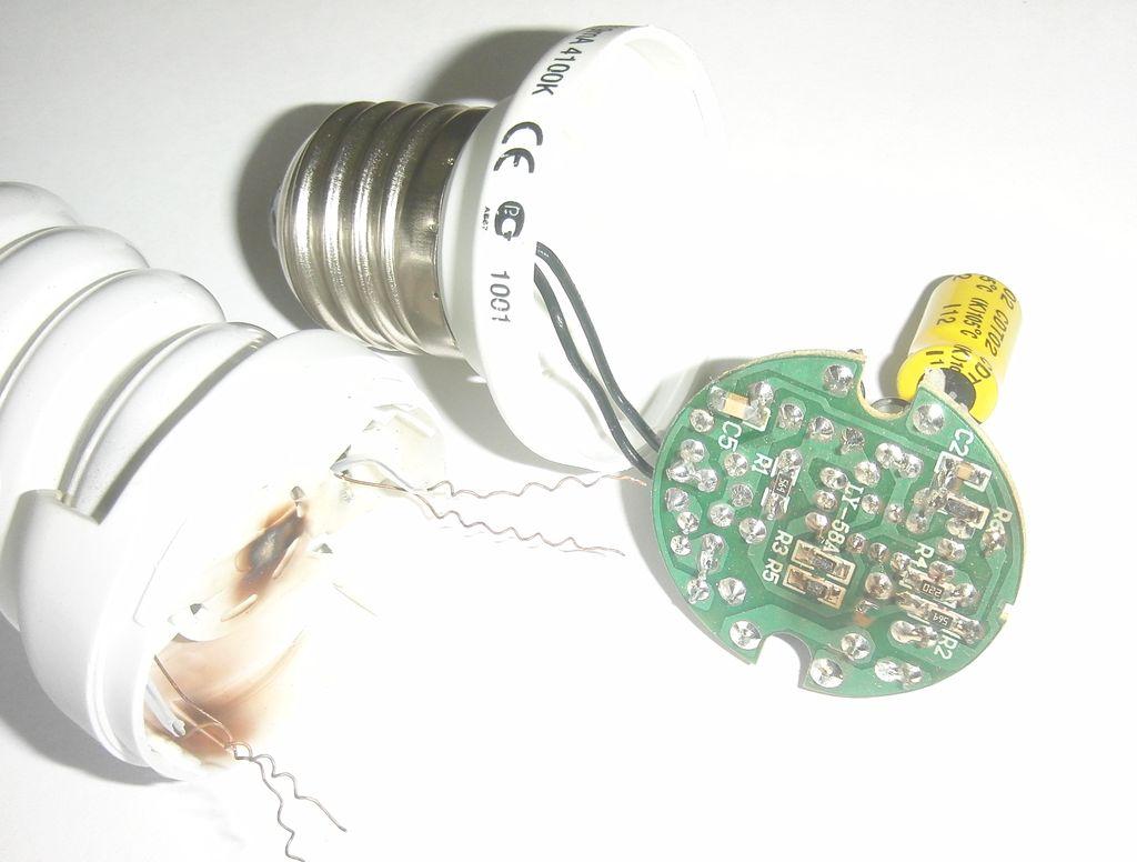 Подробная схема светодиодной лампы на 220в