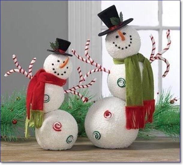 Снеговик своими руками на новый год 2020 - 12 мастер классов
