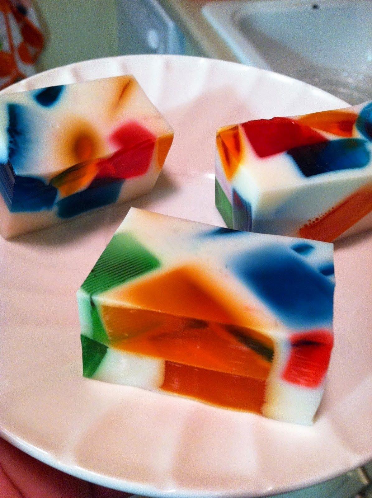 """Творожно-желейный торт """"битое стекло"""""""
