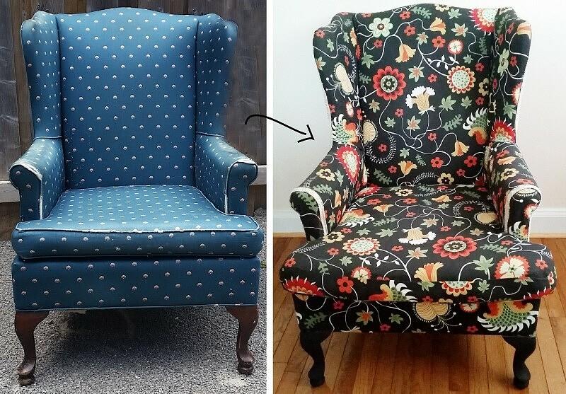 Реставрация кресла своими руками