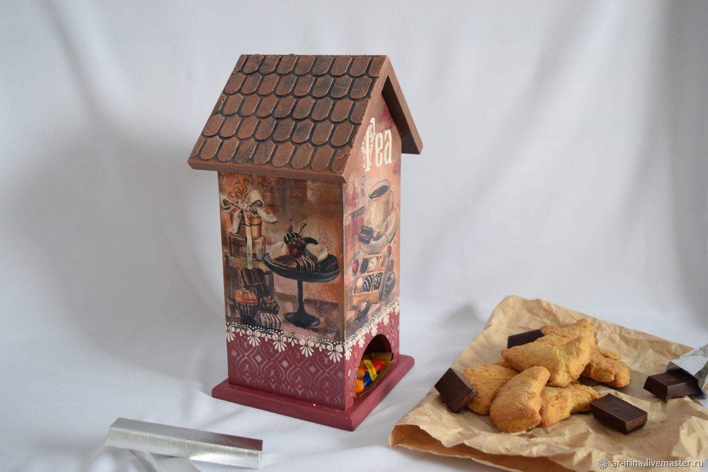 Декупаж чайного домика: мастер-класс, фото :: syl.ru