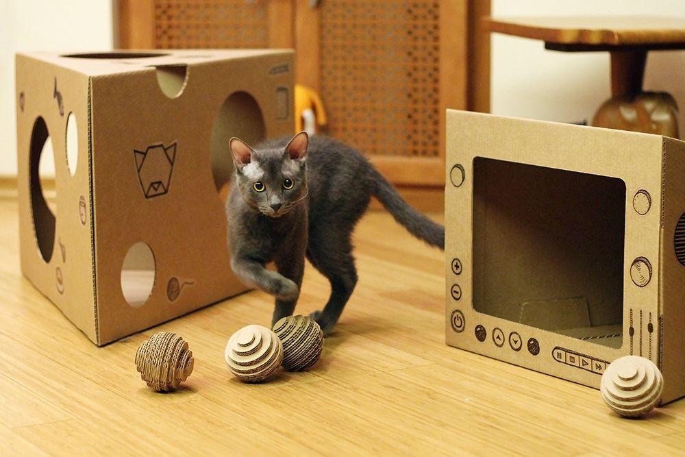 Как сделать игрушку для кота? игрушки для кошек и котят своими руками
