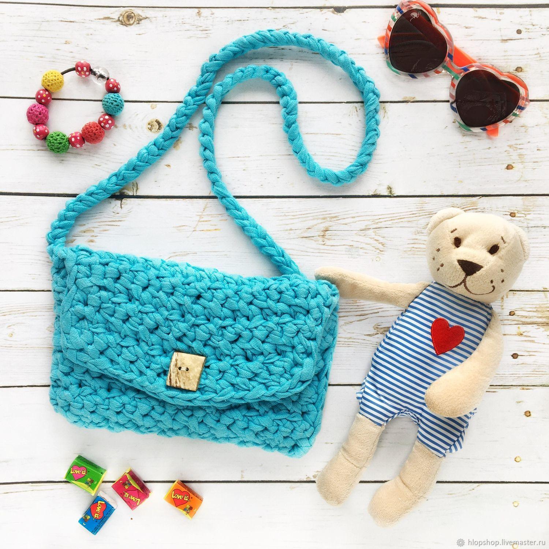 Летние сумочки для девочки, вязаные крючком — коробочка идей и мастер-классов
