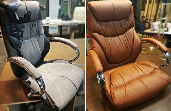Как перетянуть компьютерное кресло своими руками. - iloveremont.ru