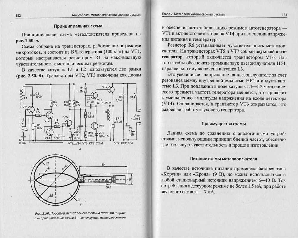 Металлоискатель своими руками в домашних условиях: схема и размеры металлоискатель своими руками в домашних условиях: схема и размеры