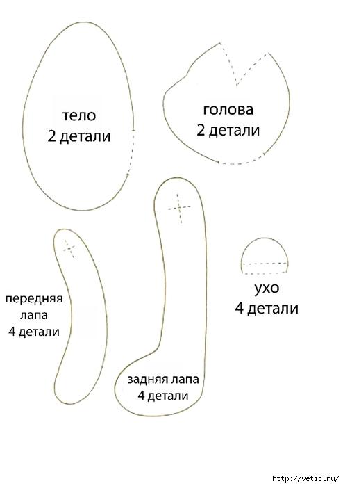 Способы шитья мишки тильды по выкройкам своими руками; подробные мастер-классы с пошаговыми инструкциями