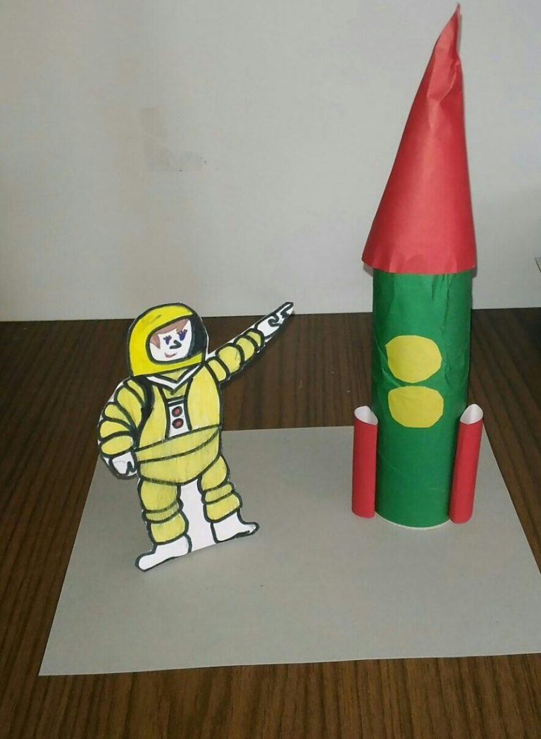 Оригами: ракета