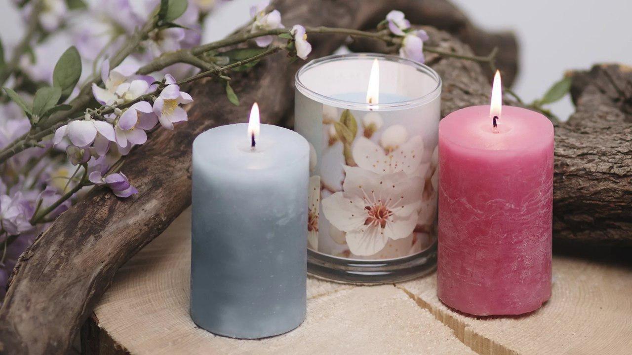 Изготовление ароматических свечей в стеклянной баночке