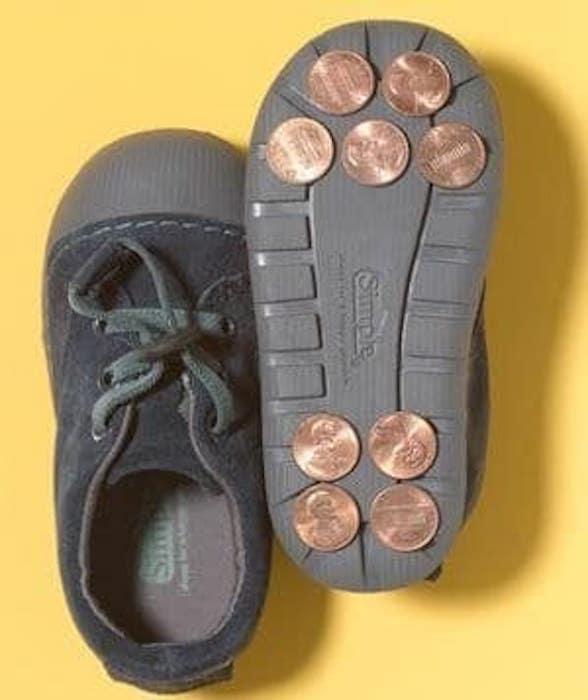 Как сделать подошву обуви нескользкой в домашних условиях