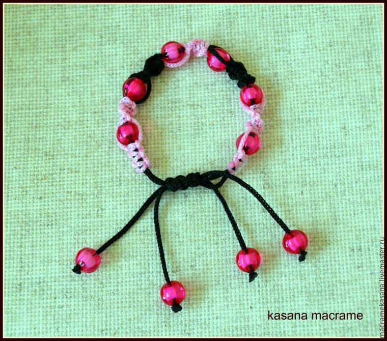 Макраме схемы плетения браслетов