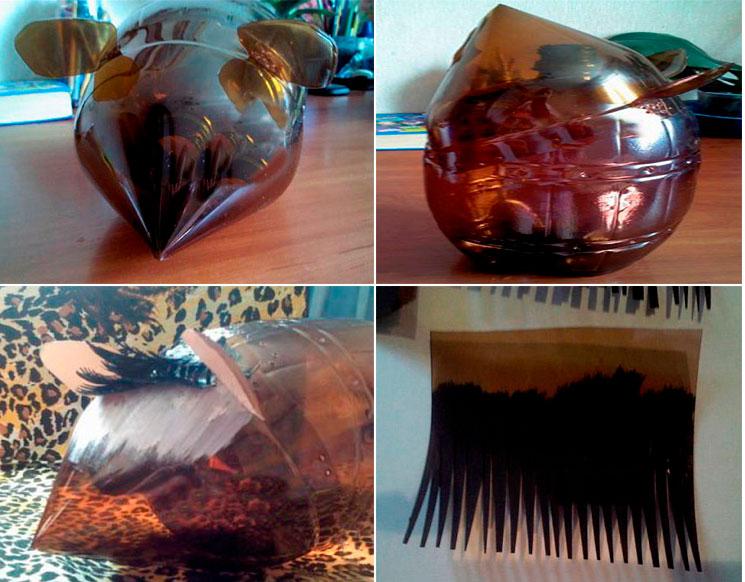 Поделка ежик из шишки: как сделать из пластиковой бутылки, пластилина в школу и садик | все о рукоделии