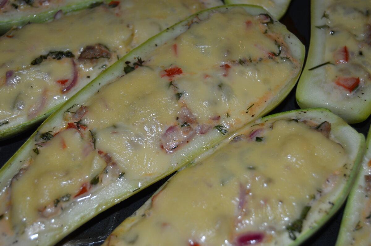 Фаршированный кабачок в духовке - как приготовить по вкусным пошаговым рецептам с фото
