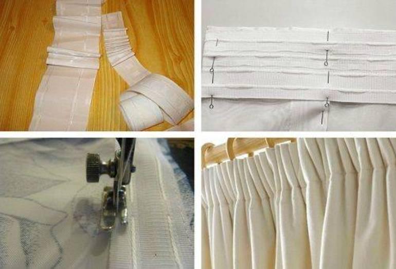 Как укоротить шторы, не обрезая: способы и рекомендации