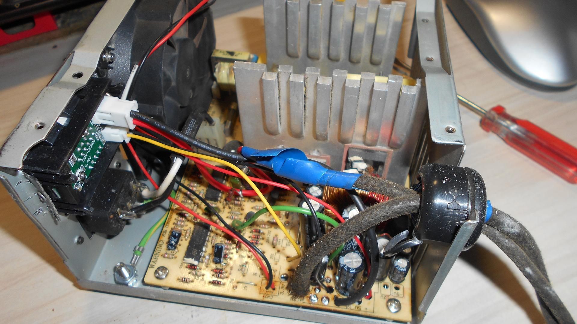 Переделка блока питания ат в зарядное устройство - diodnik