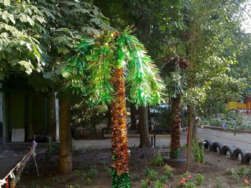 Пальма из пластиковых бутылок своими руками: пошагово для начинающих пальма из пластиковых бутылок своими руками: пошагово для начинающих