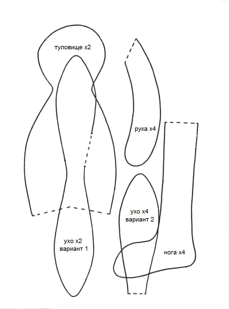 Выкройка козы тильда с понятным описанием, подробным и доходчивым видео – уроком по поделке от первого до последнего шага. выкройка козы тильда: мастер-класс по кройке и шитью игрушки из ткани выкройка козы тильды