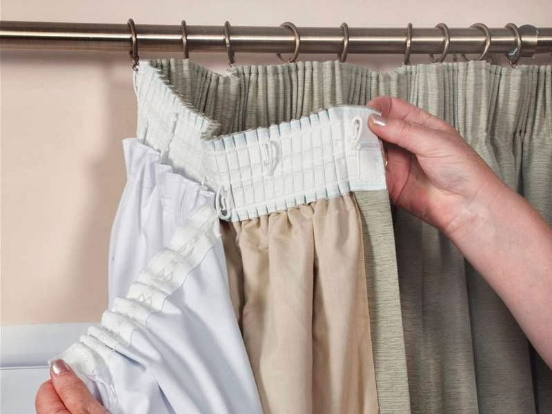 Как подшить тюль в домашних условиях на ленте своими руками и правильно обработать края?