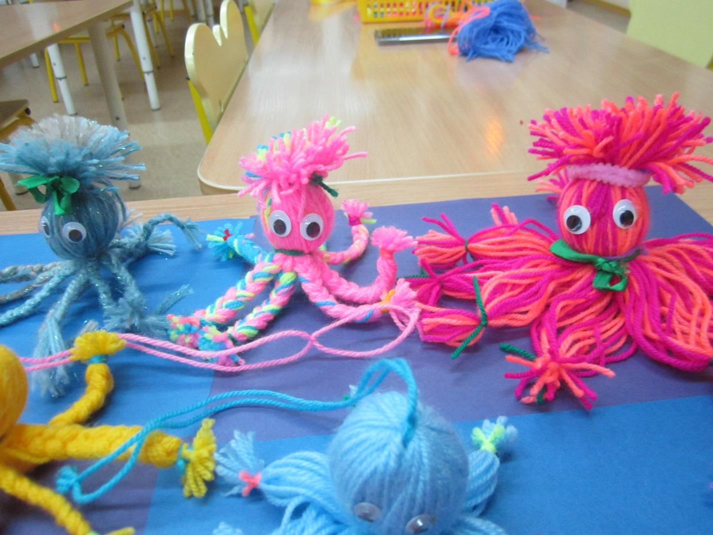 Конспект арт-терапевтического занятия «друзья для осьминожки». воспитателям детских садов, школьным учителям и педагогам - маам.ру