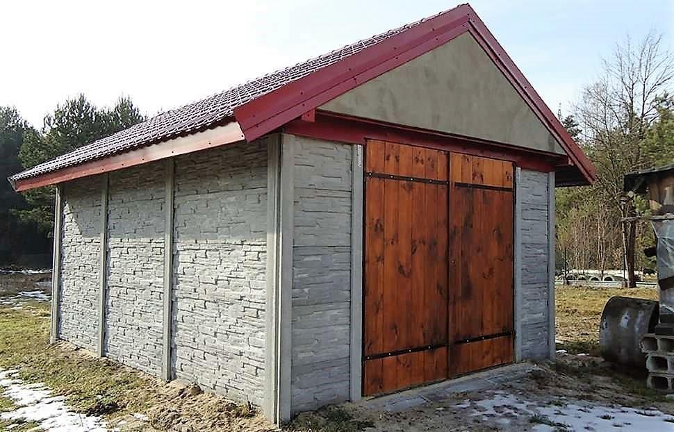 Гараж из еврозабора. все о железобетонном гараже: плюсы и минусы постройки из плит и бетонных блоков, размер, вес, фото как правильно построить гараж из бетонных плит