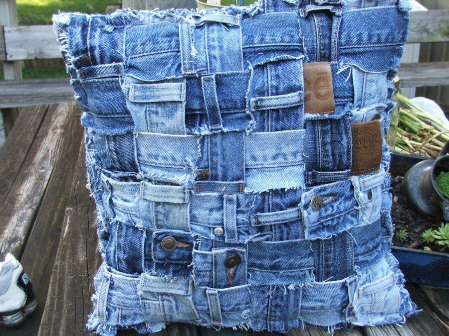 Что можно сделать из старых джинсов своими руками: мастер-классы переделок, выкройки, новые идеи для старых джинсов