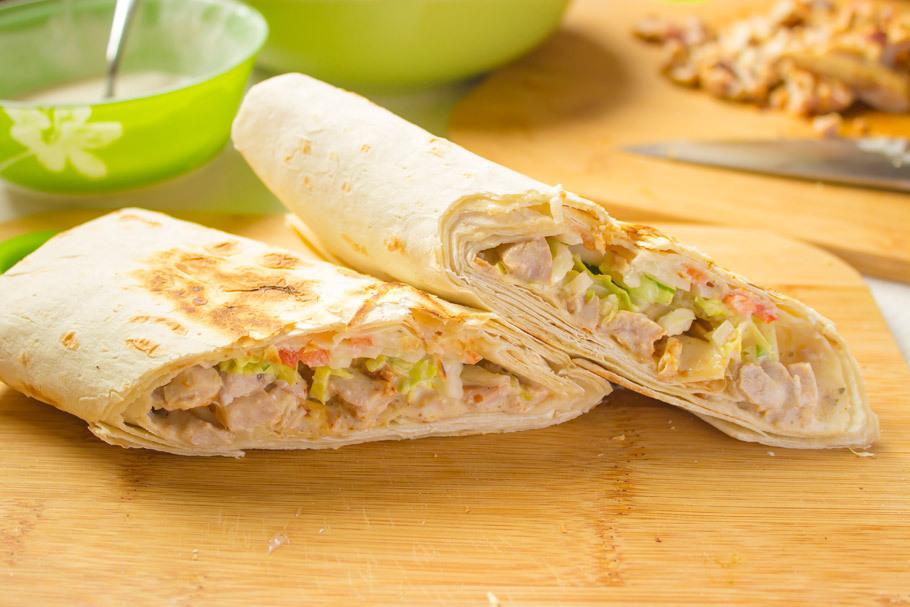 Шаверма домашняя – кулинарный рецепт