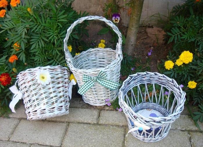 Кашпо из газетных трубочек (12 фото): мастер-класс по плетению кашпо без дна для цветов своими руками, велосипед-кашпо и другие идеи