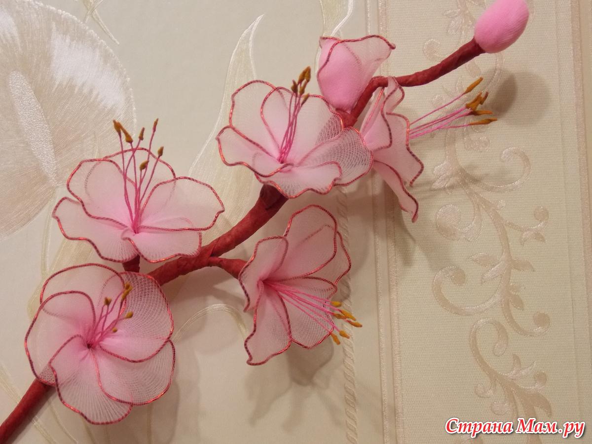 Цветы из капрона (много фото) | страна мастеров