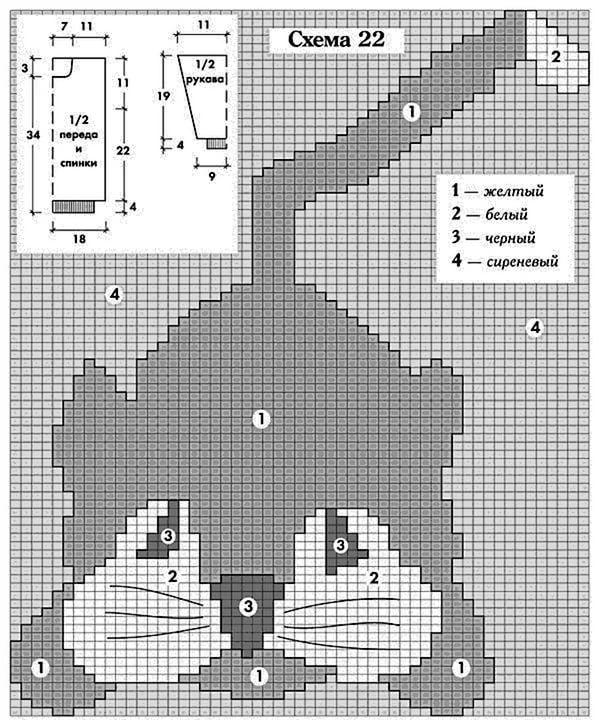 Шапка - кошка, 12 схем и описания для вязания детской и взрослой шапки