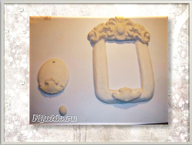ᐉ рамка из полимерной глины с мерой веса продуктов - своими руками -