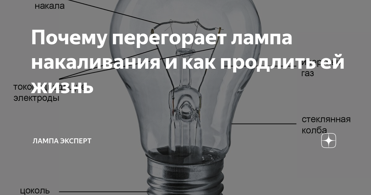 Лампа накаливания (лампа ильича): устройство, принцип действия, виды, характеристики