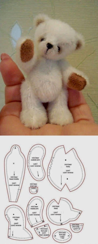 Мастер-класс по мишкам тедди: инструкция как сшить игрушку своими руками